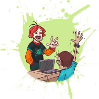 video game camp 6